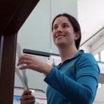 Executive Director Carolyn Keel joins in the effort.