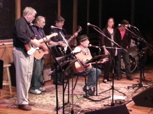 "Mike Mann and Friends perform at ""Come Together"""