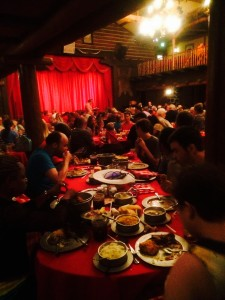 Dining at the Hoop Dee Do Revue