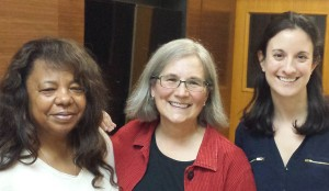 Pictured: Rimland CEO Pamela Watson, Trainer Kathy Tate-Bradish, and Rimland Executive Director Carolyn Keel