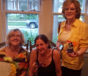 l to r: Maggie Wilson, Nancy Bloch, Sharon Sanders