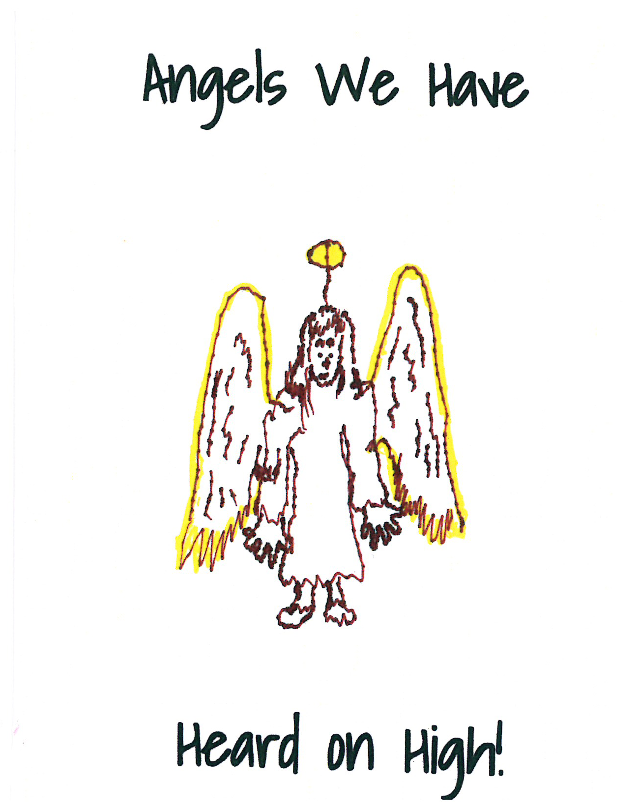 Rimland Angel Christmas Card