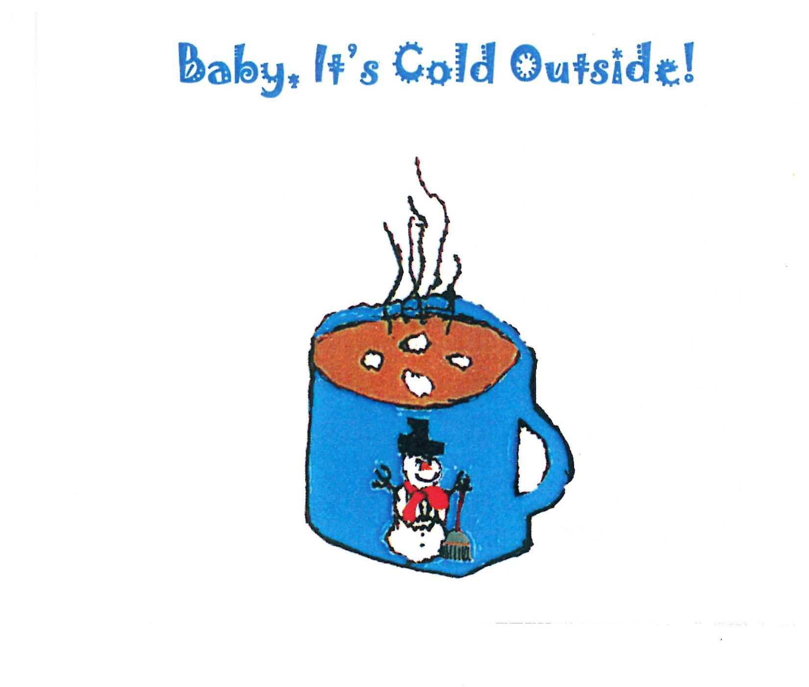 Rimland Cold Outside Christmas Card