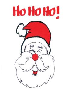 Rimland Santa Christmas Card