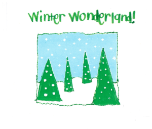 Rimland Winter Wonderland Christmas Card