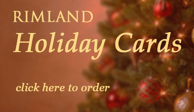 Slide to order Rimland Christmas Cards