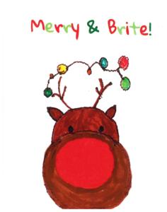 Rimland Reindeer Christmas Card