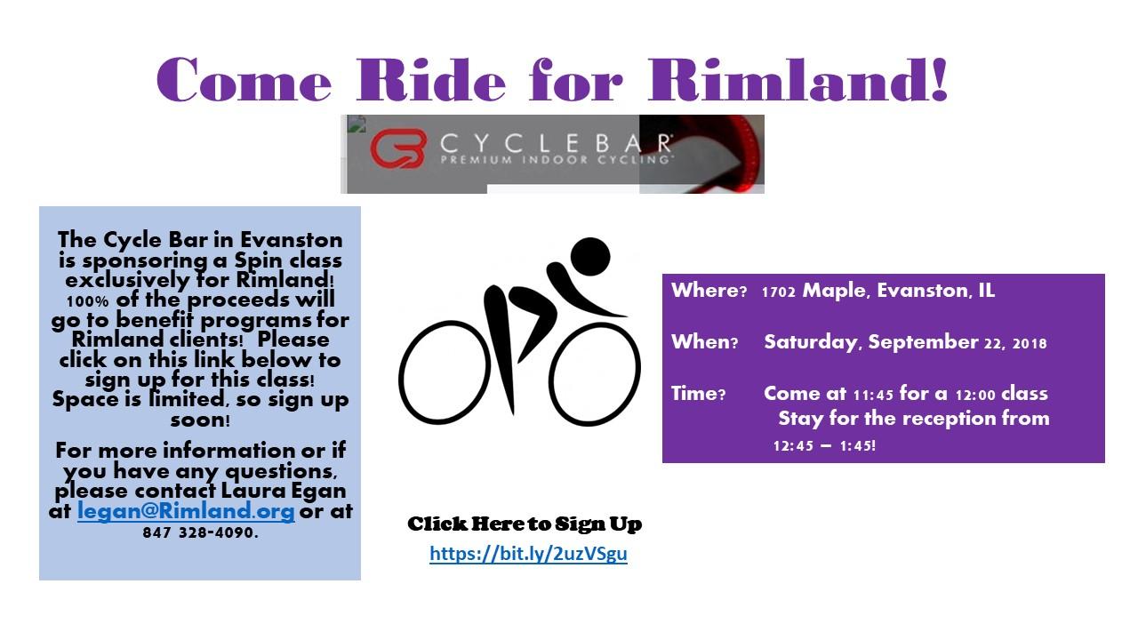 Come Ride for Rimland!