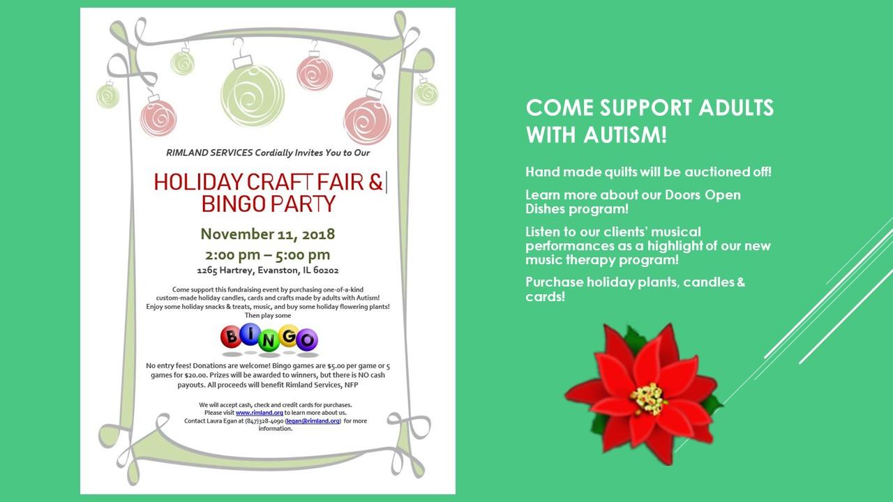 revised Craft Fair flyer