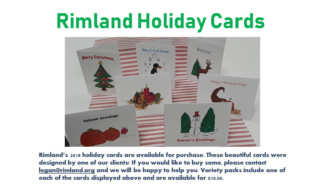 holiday card flier for website 2018